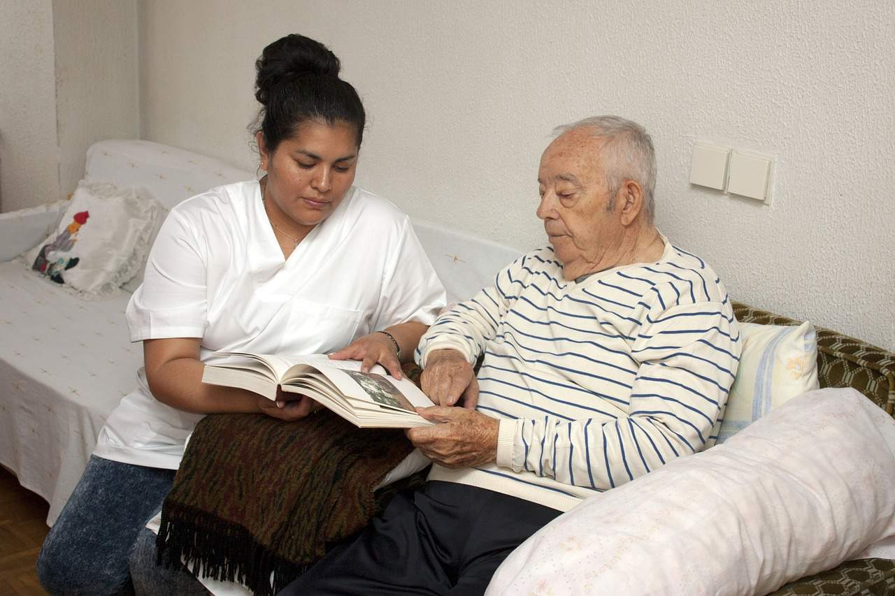 Home health care can be relaxing