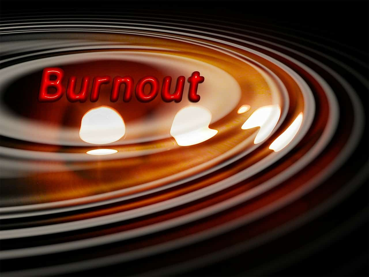 Chronic stress leads to burnout