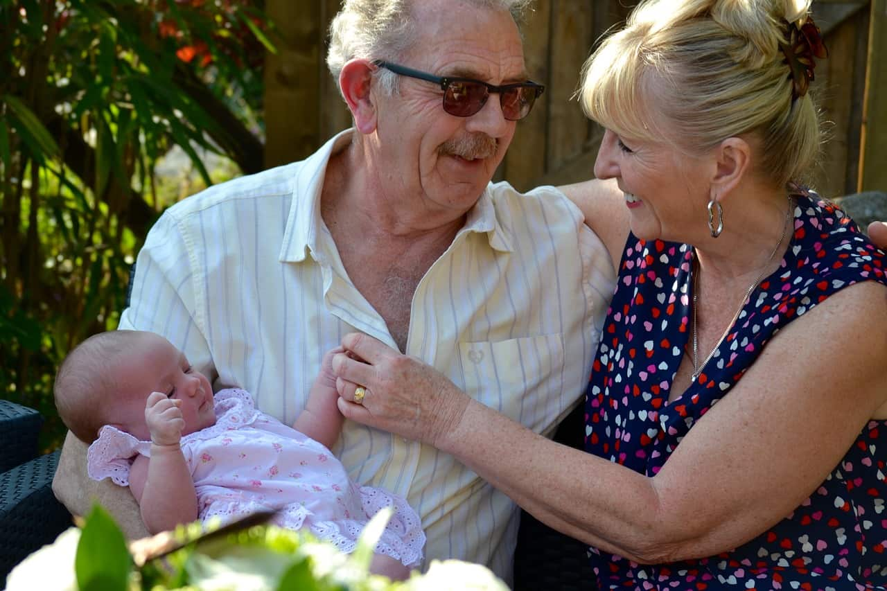 Sandwich generation adults care for elders and youngsters